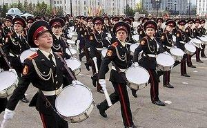 В Краснодаре прошла первая из трёх репетиций парада Победы