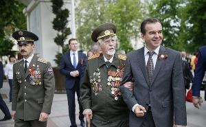 Вениамин Кондратьев поздравил всех кубанцев с праздником Великой Победы