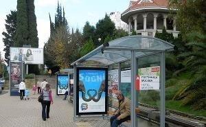 В Сочи установят 64 новых остановочных павильона