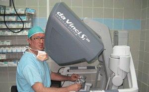 Кубанские врачи провели сотую операцию с помощью робота-хирурга