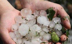 На Кубани подсчитывают ущерб, нанесённый сильным ливнем и градом