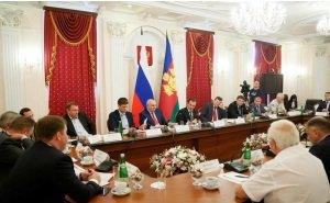 Вениамин Кондратьев обсудил проблемы, с которым сталкивается бизнес Кубани