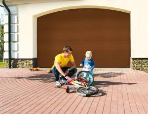 Секционные ворота – это оптимальная конструкция для любого гаража
