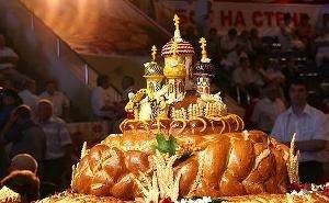 На Кубани чествовали хлеборобов