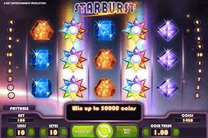 Игровой автомат Starburst в казино Вулкан