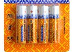 Щелочные батарейки - день вчерашний и сегодняшний