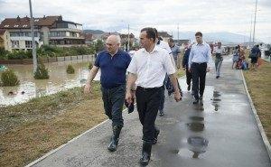 Кондратьев проинспектировал водоотводные каналы в Сочи