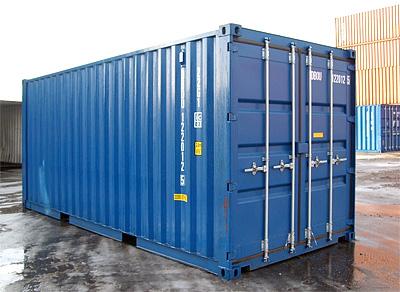 Как выбрать 40 футовый контейнер