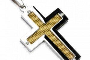 Золотые и серебряные крестики по доступной цене
