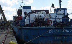 В порту Новороссийска экипаж украинского корабля умирает от голода