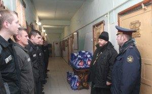 Сочинских заключённых поздравили с Рождеством