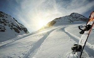 В горах Сочи разбился сноубордист