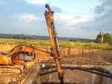 Работа по подготовке территории к строительству, вывоз грунта, разработка котлована