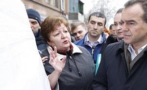 С жителями Ростовского шоссе встретился губернатор