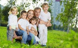 Число многодетных семей на Кубани неуклонно растёт