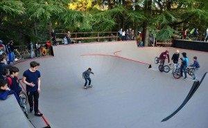 Против демонтажа скейт-парка в Сочи выступили дети