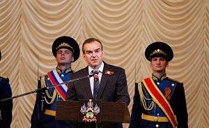 Кондратьев поздравил ветеранов с наступающей годовщиной Великой Победы