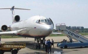 В аэропорту Сочи какой-то самолёт при взлёте