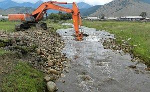 Во избежание подтоплений горные реки Сочи расчищают от мусора