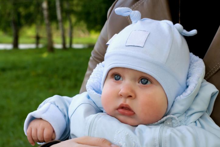 Летний гардероб младенца