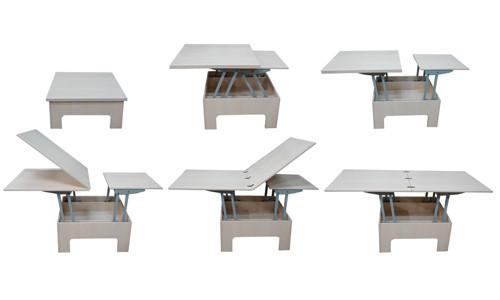 Стол-трансформер от MebShop – выгодное решение для маленькой комнаты