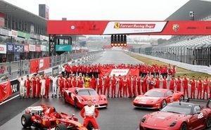 Россия впервые принимает автомобильное шоу Ferrari Racing Days