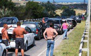 Губернатор Кубани лично оценил масштабы заторов на трассе к морю