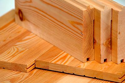 Пиломатериалы из натурального дерева для отделки жилых помещений