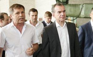 Вениамин Кондратьев посетил заводы Армавира