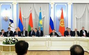В Сочи прошло заседание Евразийского межправительственного совета