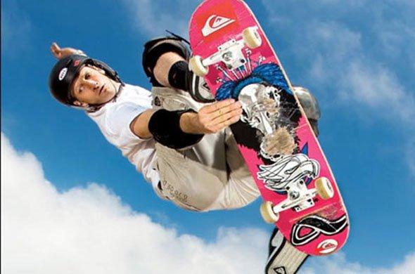 Соревнования скейтбордистов в Сочи