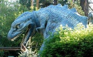 В мобильном гиде по сочинскому Дендрарию «ожили» динозавры