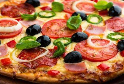 Ароматная пицца от