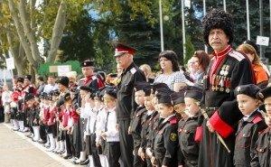 В Краснодаре приняли присягу более 530 казачат
