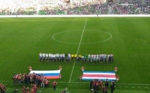 Краснодарский «Колизей» открыт поражением сборной России