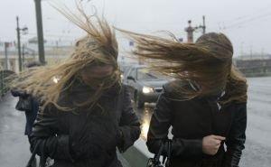 На Кубани ураганный ветер сносит всё на своём пути