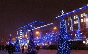 Краснодар начнут украшать к Новому году
