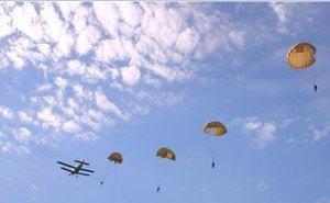 На Кубани, прыгнув из самолёта с парашютом, бесследно исчезли трое десантников