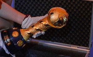 В Сочи доставлен главный трофей Кубка конфедераций