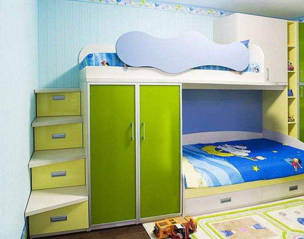 Какую кровать выбрать в детскую комнату