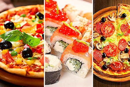 Интернет-магазин с доставкой суши, роллов, пиццы
