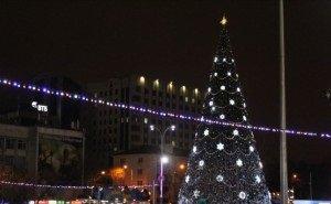 На Театральной площади Краснодара Новый год встретили 12 тысяч человек