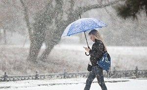 На Кубани к концу января прогнозируют снегопады