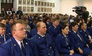 В Краснодаре чествовали работников прокуратуры