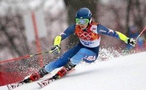 На лыжных трассах Красной Поляны тренируются именитые спортсмены