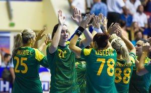 Гандболистки «Кубани» обыграли немок из «Лейпцига» со счётом 32:24