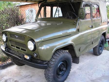 УАЗ 469 с консервации: военный резерв в мирных целях