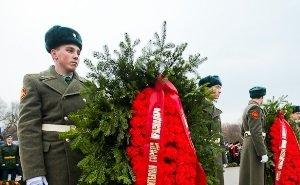В Краснодаре празднуют 74-ю годовщину освобождения города от фашистских захватчиков