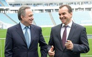 Федеральный центр поможет достроить Дворец водных видов спорта в Краснодаре
