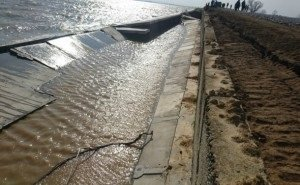 В Северском районе Кубани из-за просадки грунта введён режим ЧС